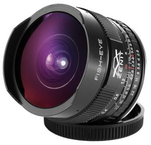 Объектив Зенит МС Зенитар-C 16 mm F/2.8 Fisheye для Canon новый дизайн